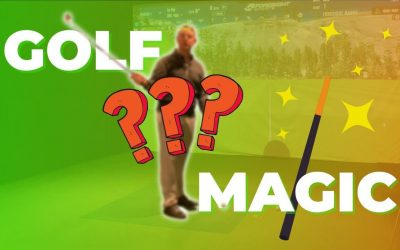MAGIC tip to help you STOP OVERTHINKING your GOLF swing